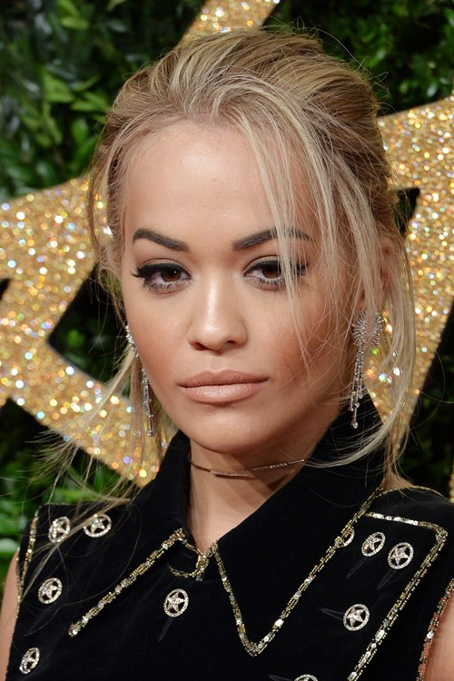 145467, Rita Ora arrives on the red carpet at The British Fashion ...