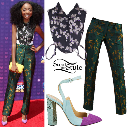 Skai Jackson attends The 2016 Radio Disney Music Awards in Los Angeles. April 30th, 2016 - PacificCoastNews