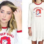 Zoella: 'Lovely Ugly Club' Dress