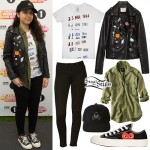 Alessia Cara: Pin Jacket, Stamp Tee