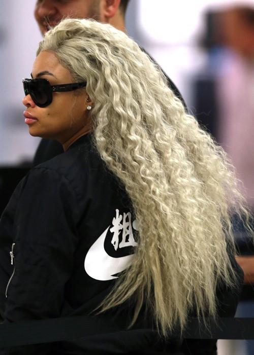Thibault Monnier/Brett Kaffee, PacificCoastNews.com - Blac Chyna's Hairstyles & Hair Colors Steal Her Style Page 2