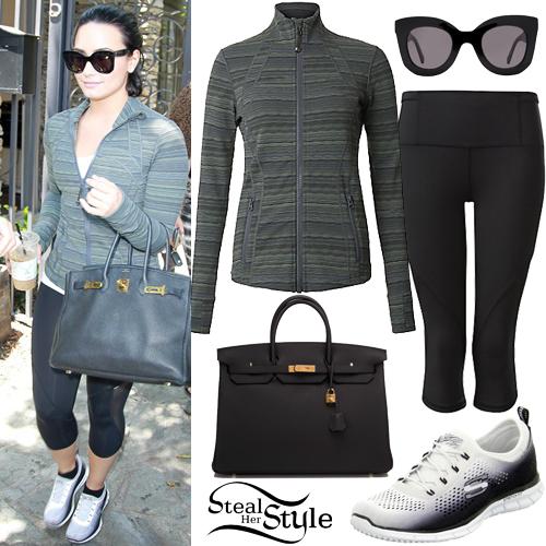 Demi Lovato leaving a music studio in Los Angeles. June 7th, 2016 - photo: AKM-GSI