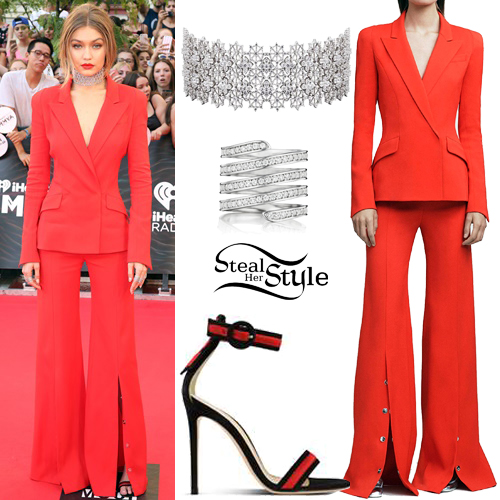Gigi Hadid at the Much Music Video Awards in Toronto, Canada. June 19th, 2016 - photo: PacificCoastNews
