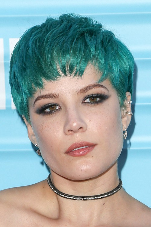 color hair style light blue pixie cut hair color ideas and styles for 2018 6073