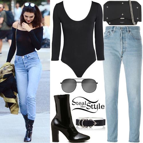 Kendall Jenner leaving The Smile restaurant in New York City. June 21, 2016 - photo: FameFlynet