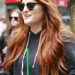 151978, Meghan Trainor, wearing slip-ons, greets fans outside NBC's Rockefeller Studios. New York, NY - Friday May 13, 2016. Photograph: © PacificCoastNews. Los Angeles Office: +1 310.822.0419 UK Office: +44 (0) 20 7421 6000 sales@pacificcoastnews.com FEE MUST BE AGREED PRIOR TO USAGE