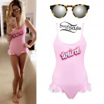 Zoella: 'Weird' Ruffle Swimsuit