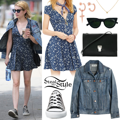 Emma Roberts out and about in West Hollywood. June 28th, 2016 - photo: AKM-GSI