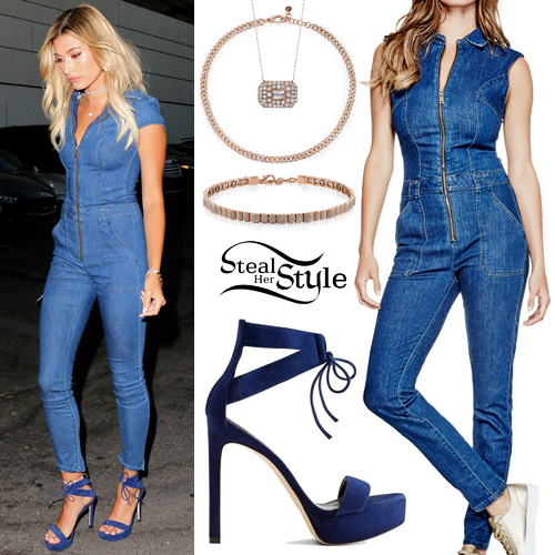 5cc867f1d7e1 Hailey Baldwin arriving at Guess Dare party at Ysabel in Hollywood. July  27th