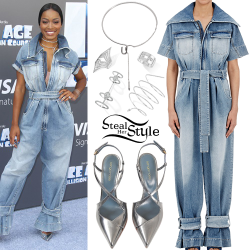 Keke Palmer attends the premiere of 'Ice Age: Collision Course'. July 16th, 2016 - photo: PacificCoastNews