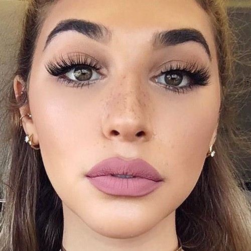 Mauve Lipstick Makeup Looks Steal Her Style