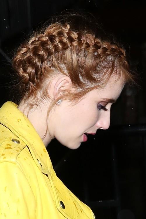 Francesca Capaldi Straight Hair