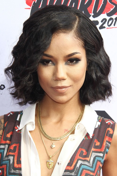 150209, Jhene Aiko attends The iHeartRadio Music Awards. Los Angeles ...