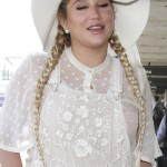 153171, Doing alright in all white! Kesha is seen departing from LAX airport in all all white ensemble topped with a big hat. Los Angeles, California - Friday June 3, 2016.  Photograph: © PacificCoastNews. Los Angeles Office: +1 310.822.0419 UK Office: +44 (0) 20 7421 6000 sales@pacificcoastnews.com FEE MUST BE AGREED PRIOR TO USAGE