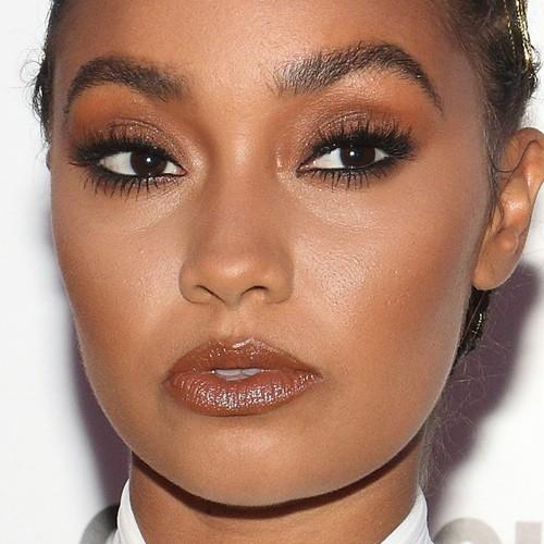 Leigh-Anne Pinnock Makeup: Black Eyeshadow, Gold Eyeshadow