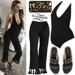 Lauren Elizabeth: Halter Bodypsuit, Tassel Pants