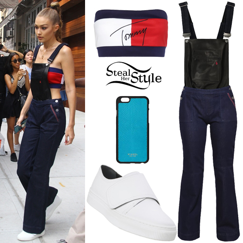 Gigi Hadid leaving her apartment in New York. September 10th, 2016 - photo: PacificCoastNews