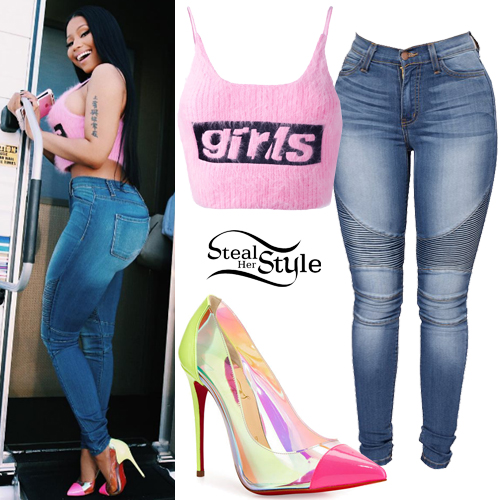 9dcb4a5c001 Nicki Minaj Clothes Outfits Page 4 Of 11 Steal Her Style
