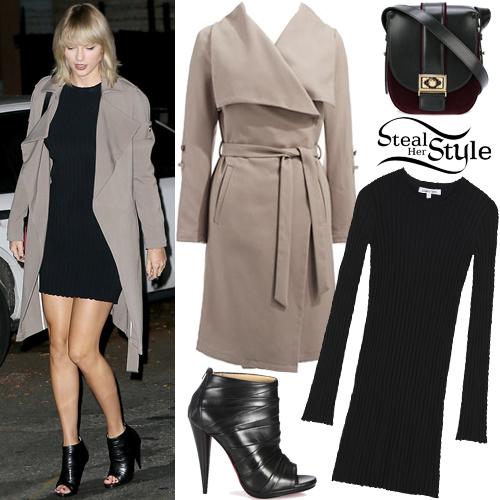 0deb231794e Taylor Swift leaving The Waverly Inn in New York. September 27th