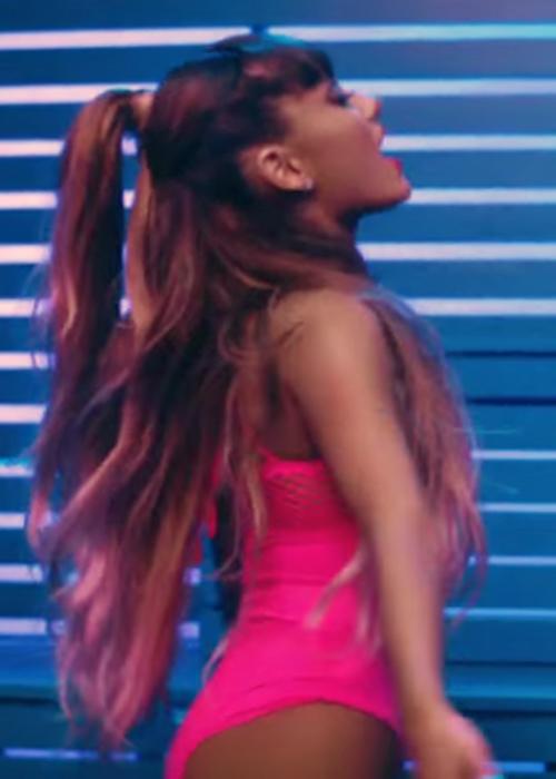 Ariana Grande Wavy Medium Brown Half Up Half Down Ombr 233