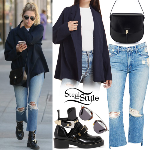 Ashley Benson shopping in Beverly Hills. October 5th, 2016 - photo: AKM-GSI
