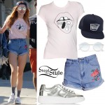 Bella Thorne out and about in Studio City. October 2nd, 2016 - photo: PacificCoastNews