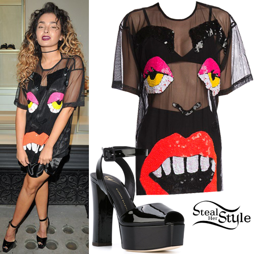 Ella Eyre at Giuseppe Zanotti London Flagship Store Launch. October 26th, 2016 - photo: PRPhotos