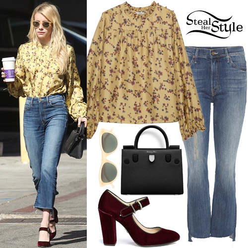 b46e5dfaa0260 Emma Roberts out and about in Beverly Hills. October 19th
