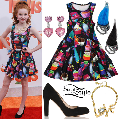 "Francesca Capaldi at the ""Trolls"" Los Angeles Premiere. October 23, 2016 - photo: PRPhotos"