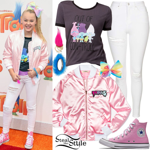 "JoJo Siwa at the ""Trolls"" Los Angeles Premiere. October 23, 2016 - photo: PRPhotos"