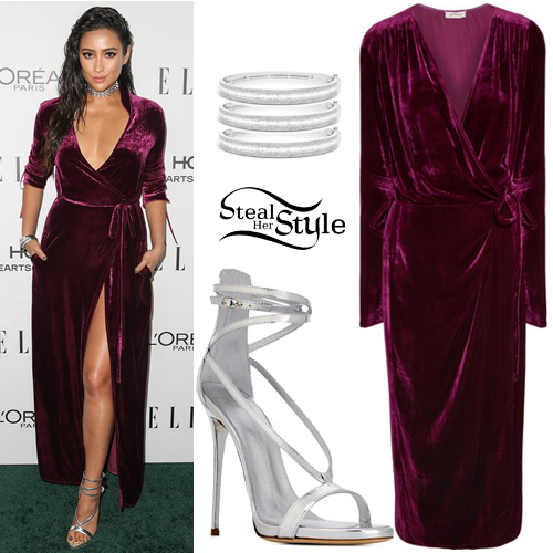 Shay Mitchell at the 23rd Annual ELLE Women in Hollywood Awards. October 24th, 2016 - photo: PRPhotos