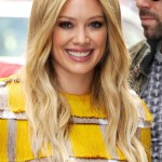 138707, Hilary Duff seen out wearing a yellow and silver fringe top with white ripped jeans in NYC. New York, New York - Monday June 15, 2015. Photograph: © RGK, PacificCoastNews. Los Angeles Office: +1 310.822.0419 sales@pacificcoastnews.com FEE MUST BE AGREED PRIOR TO USAGE