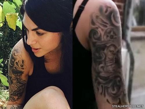 jahan-yousaf-upper-arm-tattoo