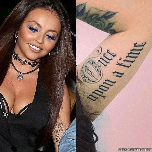 Cardi B Tattoos Arm: Jesy Nelson's Tattoos & Meanings