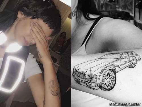 kreayshawn-car-tattoo