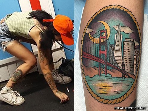 kreayshawn-san-francisco-tattoo