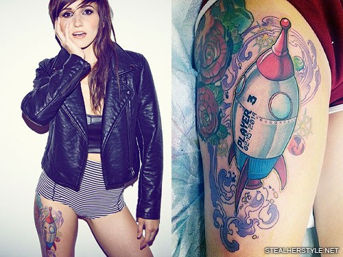 LIGHTS\' Tattoos | Lights Valerie Poxleitner | Steal Her Style