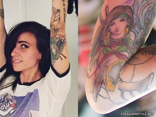 Lights Tattoos Lights Valerie Poxleitner Steal Her Style