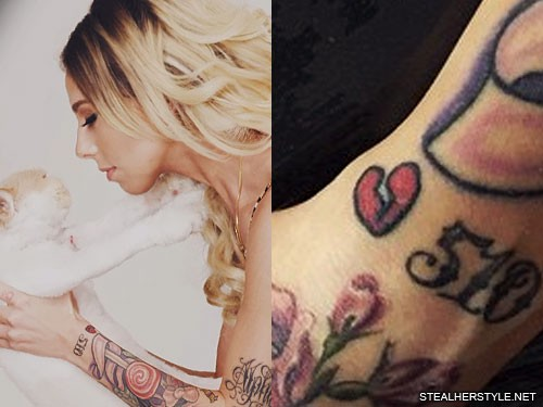 8a08a81f0 Lil Debbie's Tattoos & Meanings | Steal Her Style