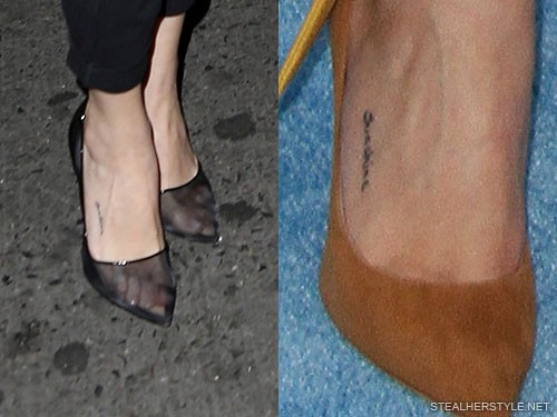 Selena Gomezs Tattoos Meanings Steal Her Style