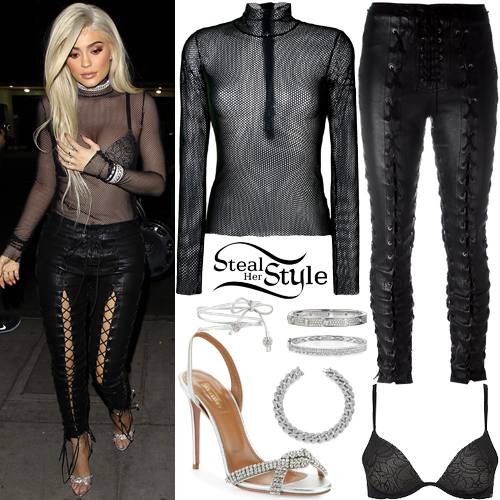Kylie Jenner arrives for sister Kendall's 21st birthday party at Delilah. November 2nd, 2016 - photo: AKM-GSI
