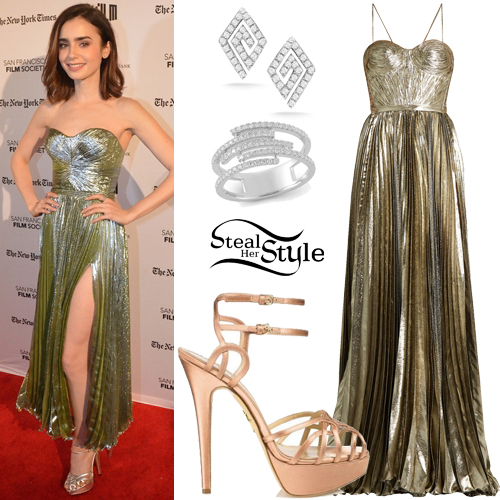 Lily Collins at the Premiere Of 20th Century Fox's 'Rules Don't Apply'. November 21, 2016 - photo: PRPhotos