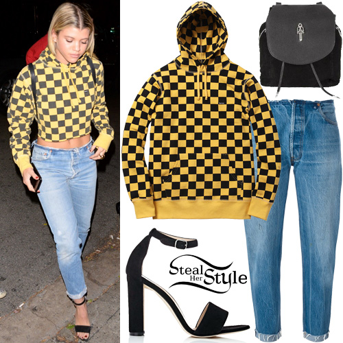 Sofia Richie leaving the Nightingale Plaza. November 17th, 2016 - photo: AKM-GSI