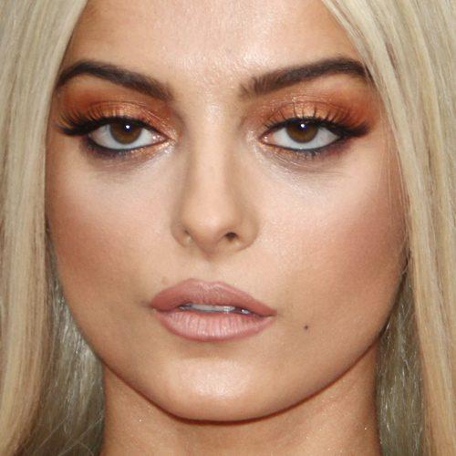 Bebe Rexha Makeup Black Eyeshadow Bronze Eyeshadow Amp Brown Lipstick