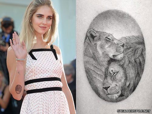 Chiara Ferragni S 26 Tattoos Meanings Steal Her Style