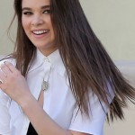 140435, Hailee Steinfeld seen filming for her new music video 'Love Myself' in Los Angeles. Her friend Eli Meyer was seen on set with her. Los Angeles, California - Wednesday July 22, 2015. Photograph: Miguel Aguilar, © PacificCoastNews. Los Angeles Office: +1 310.822.0419 sales@pacificcoastnews.com FEE MUST BE AGREED PRIOR TO USAGE