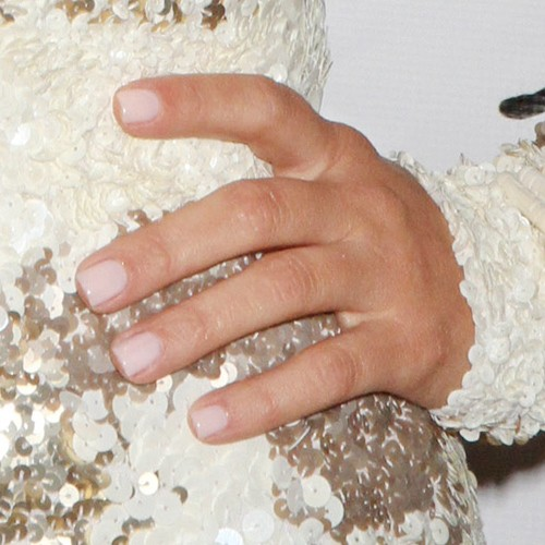 Kim Kardashian Nude Nails Steal Her Style