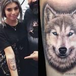 kirstin-maldonado-dog-arm-tattoo