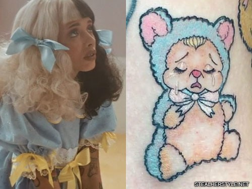 Celebrity Stuffed Animal Tattoos Steal Her Style