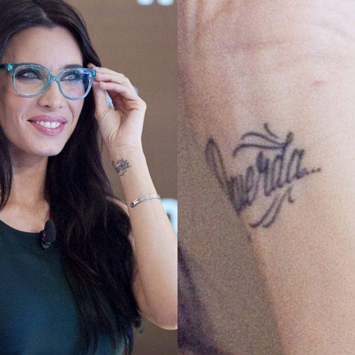 Tatuajes Pilar Rubio pilar rubio's tattoos & meanings   steal her style